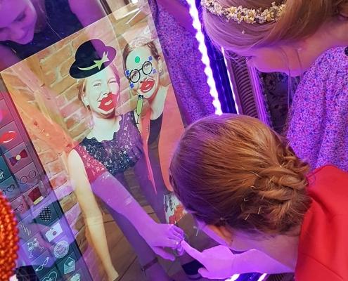 Spiegel mit Fotofunktion