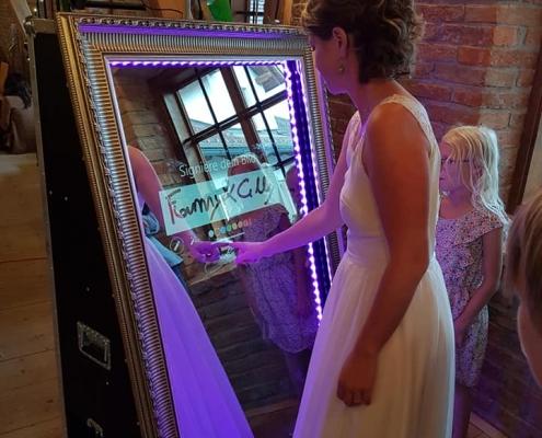 Braut Zauberspiegel