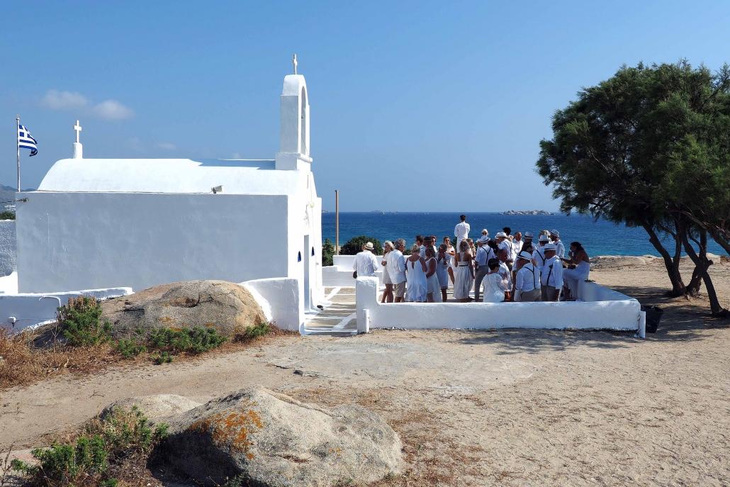 Hochzeit in Griechenland mit Kirche