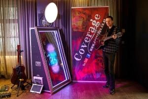 mirror selfie box und Musiker
