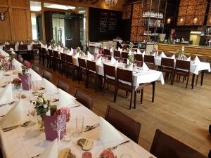 Hochzeitstafel Wirt in Steinbrunn GH Bauer